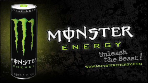 「モンスターエナジー」は、アメリカでもともと発売されていたエナジードリンク。