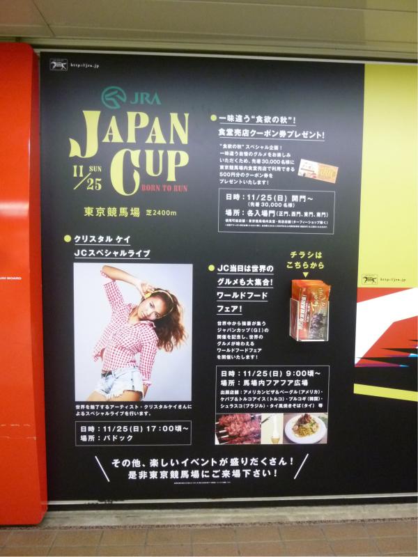 隣の枠では、ポスターに取り付けられたポケットでチラシも配布している。